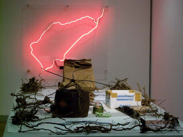 neon and between install